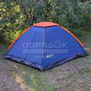 Палатка 4-местная Green Days GJH006 с москитной сеткой, 210х240х130 см