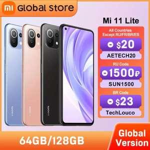 Смартфон Xiaomi Mi 11 lite 6+64 Gb