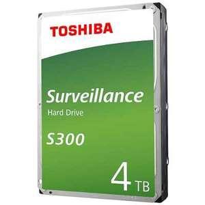 Жесткий диск HDD Toshiba S300 Surveillance 4TB HDWT840UZSVA