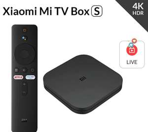Приставка для ТВ Xiaomi Mi TV Box S, 4K, 9,0 HDR, 2 + 8 Гб, Wi-Fi