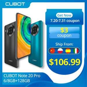 Смартфон Cubot Note 20 Pro 6/128