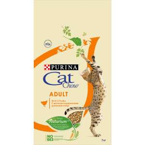 Сухой корм Purina Cat Chow для взрослых кошек, птица, 7 кг на Tmall