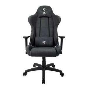 Кресло игровое Arozzi Torretta Soft Fabric Dark Grey + Рюкзак для ноутбука 15,6 дюйма SEASONS антивандальный