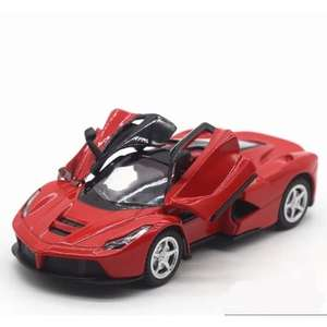 Коллекционная металлическая машинка La Ferrari 1:32 за 5.99$