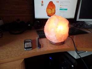 Afia 3-4 кг натуральный гималайский солевой светильник