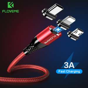 FLOVEME Магнитный usb-кабель за 2.49$
