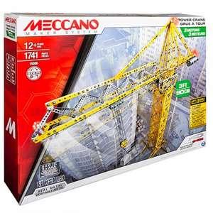 Meccano 91762 Меккано Набор Строительный Кран на д/у