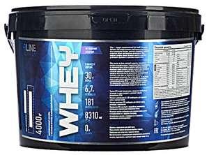 Протеин R-Line Whey (4000 г) Ваниль или Пломбир (без учета промокода)