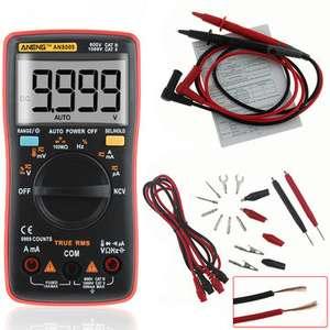 Мультиметр ANENG AN8009 True RMS NCV