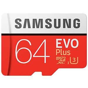 Карта памяти Samsung UHS-3 64GB Micro SDXC 100MB/s класс 10