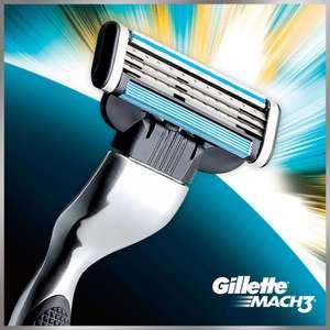 Gillette Mach3 + 5шт. лезвий