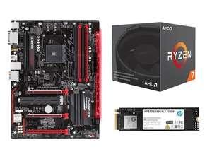 Ryzen 7 2700 + мать + SSD M.2 + The Division 2