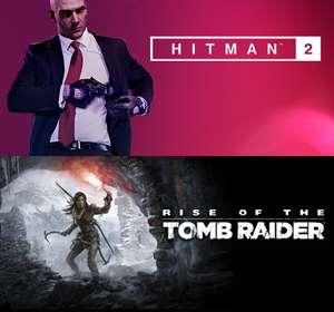 [Steam] Самая низкая цена на HITMAN2 и Rise of Tomb Raider 20YC + скидка 80% на всю серию HITMAN