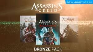 Хорошие скидки на паки ASSASSIN'S CREED от Ubisoft Store (-75%,-67%,-64%,-68%)