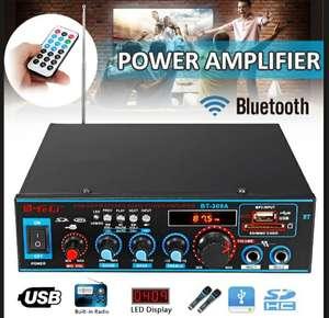 Цифровой Hi-fi Bluetooth аудио усилитель