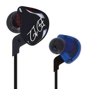 Наушники KZ ED12 со съемным кабелем, версия с микрофоном