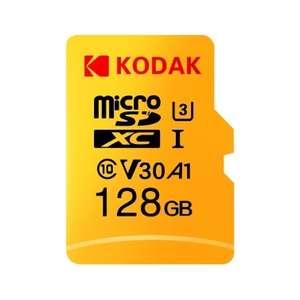 Карта памяти Kodak Micro SD 128 ГБ U3 A1 V30 за 18.99$