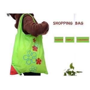 Складная сумка в форме клубнички за 1.44$