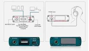 xDuoo XD10  усилитель для наушников