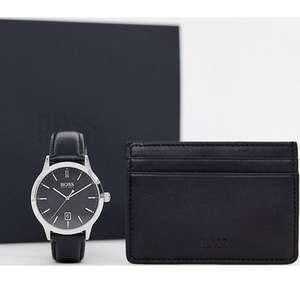 Наручные часы + кредитница BOSS