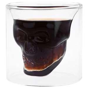 Стеклянный стакан в форме черепа за $0.95