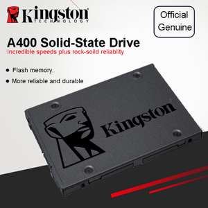 SSD Kingston 120 Гб за $39.9