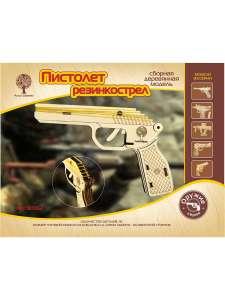 Конструктор Пистолет Резинкострел