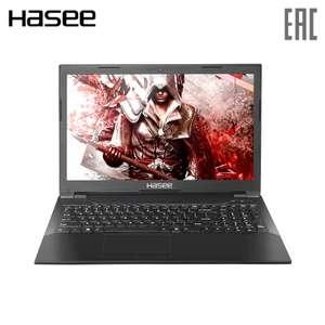 "Игровой ноутбук Hasee 15.6"" IPS/ G5400 3.70 GHz / GTX1050 4ГБ/ 8ГБ/ 256ГБ SSD"