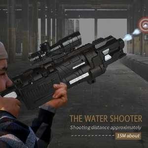 Электрическая водяная пушка для стрельбы гидрогелем 611-B за 23.59$