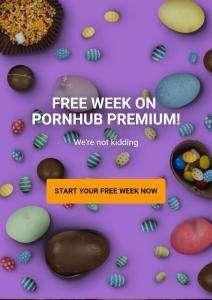 PornHub PREMIUM бесплатно на неделю.