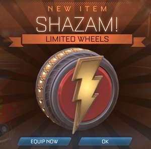 [PC/XB1/PS4] Rocket League - Shazam и другие предметы бесплатно!