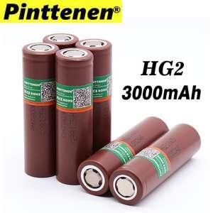 Высокотоковые аккумуляторы lg hg2 18650 4 шт.