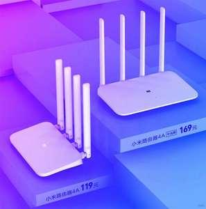 Новые Wi-Fi роутеры Xiaomi Router 4A/4A Gigabit за $26.27 и $33.76