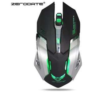 Геймерская мышка ZERODATE X70 за $6.99