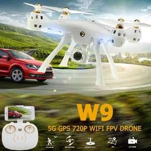Квадрокоптер ATTOP W9 GPS RC Drone с камерой 720P 5G Wi-Fi за 99$