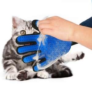 Перчатка для расчесывания шерсти домашних животных за 1,5$