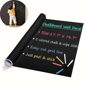 Наклейка на стену для рисования мелом