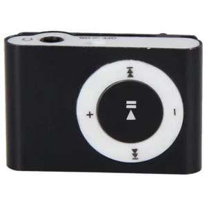 Mp3 плеер со слотом для Micro SD карты и прищепкой