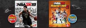 NBA 2K19 + NBA 2K Playgrounds 2