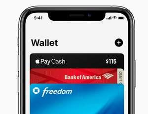Бесплатное получение электронных бонусных карт Apple Wallet
