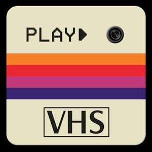 1984 Cam – VHS Camcorder, Retro Camera Effects
