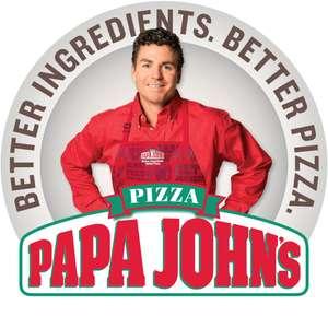 Бонус пицца 30 см в Папа Джонс (при заказе от 999 рублей)