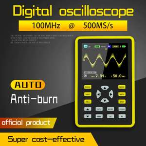 Осциллограф FNIRSI-5012H (500MS/s 100MHz) $88