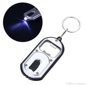 Брелок-фонарик- открывашка за $0.28