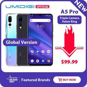 Глобальная версия UMIDIGI A5 PRO