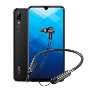 Huawei P Smart (2019) 3/32 Гб + Bluetooth наушники Samsung U Flex