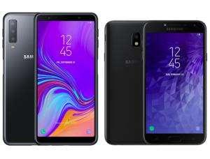 Samsung Galaxy A7 4/64Gb (2018) + Samsung J4 3/32Gb (2018)