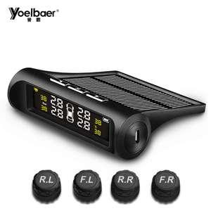 Бюджетная система контроля давления в шинах авто Yoelbaer YB-68
