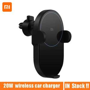 Автомобильная беспроводная зарядка-держатель Xiaomi 20W Qi Wireless за $34