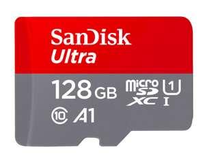 Micro SDXC карта памяти SanDisk Ultra 128GB